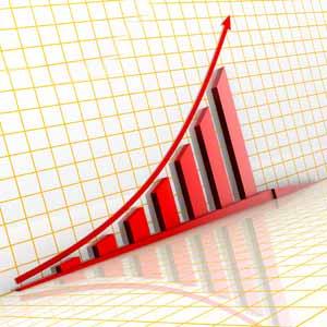日経平均株価が上昇