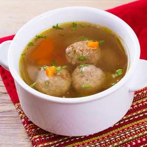節約食材レシピ「つくね団子スープ」