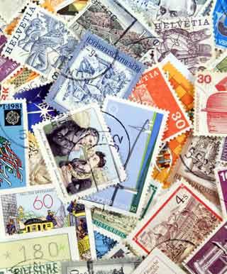 切手のコレクション