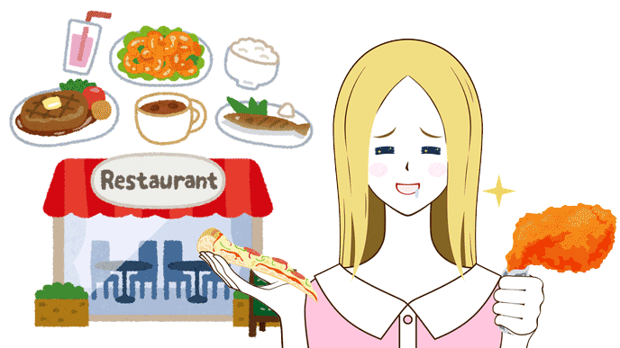 ついつい外食をしてしまう、貯金ができない一人暮らし女性